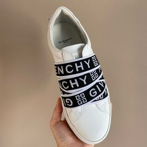 GIVENCHY 4G Webbing Urban Street Sneakers